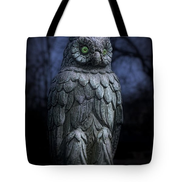 The Owl Tote Bag by Tom Mc Nemar