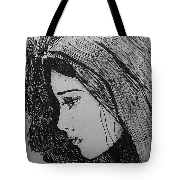 The Pain Of Parting Tote Bag by Donatella Muggianu