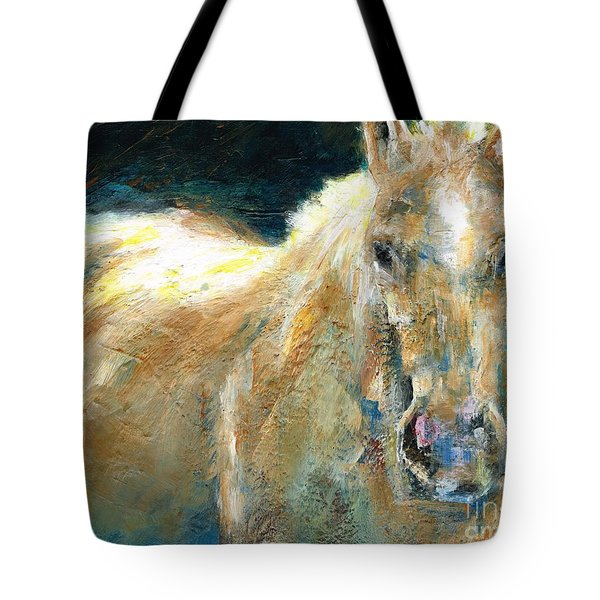 The Palomino Tote Bag by Frances Marino
