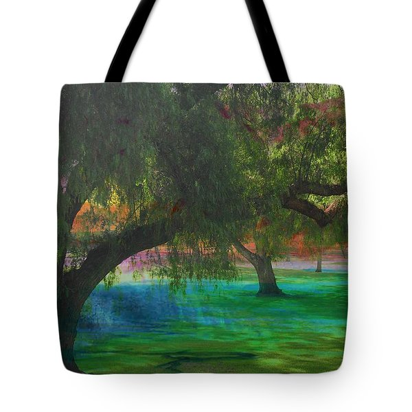 The Park Tote Bag by Athala Carole Bruckner