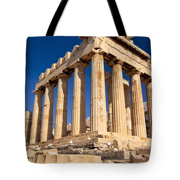 The Parthenon Tote Bag by Brian Jannsen