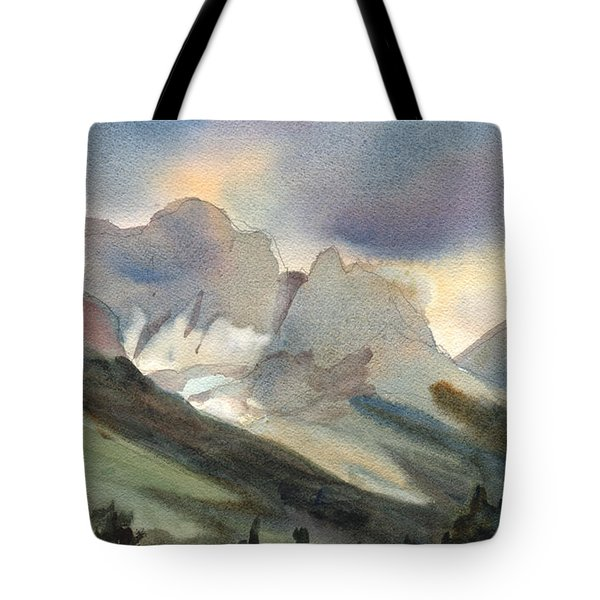 The Pass Tote Bag by Kris Parins