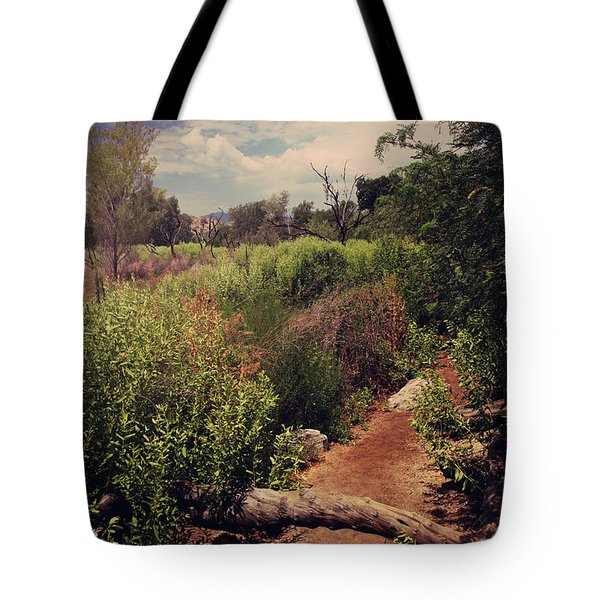 The Past Is Gone Tote Bag by Laurie Search