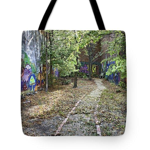 The Path Of Graffiti Tote Bag by Jason Politte