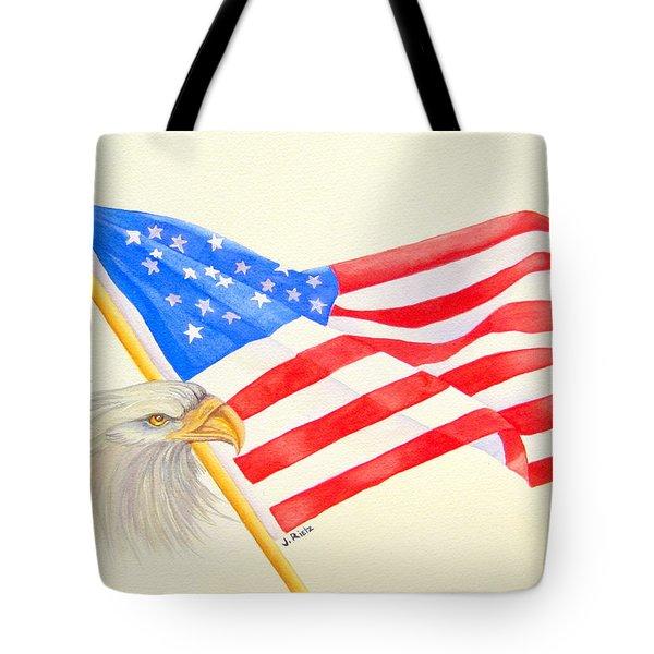 The Patriot Tote Bag by Julia Rietz