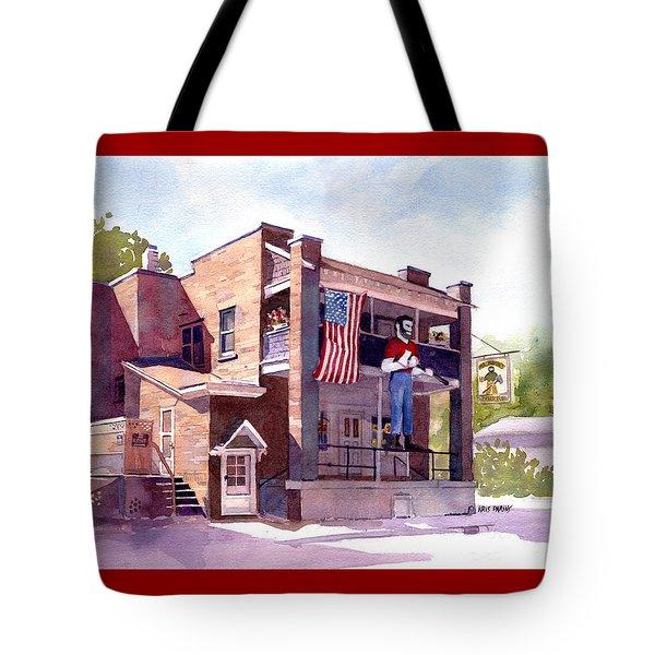 The Paul Bunyan Hotel Tote Bag by Kris Parins