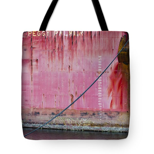 The Peggy Palmer Barge Tote Bag by Carolyn Marshall