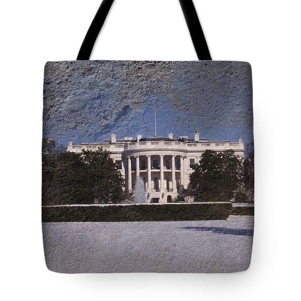 The Peoples House Tote Bag by Skip Willits