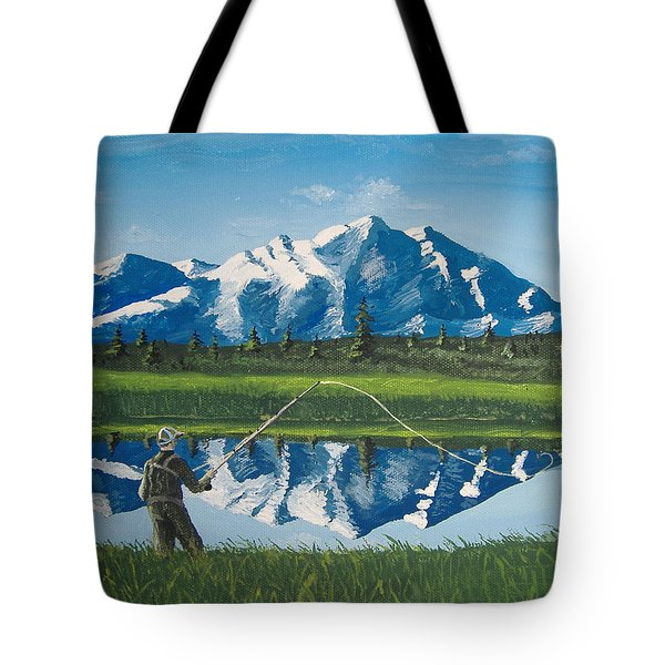 The Perfect Cast Tote Bag by Norm Starks