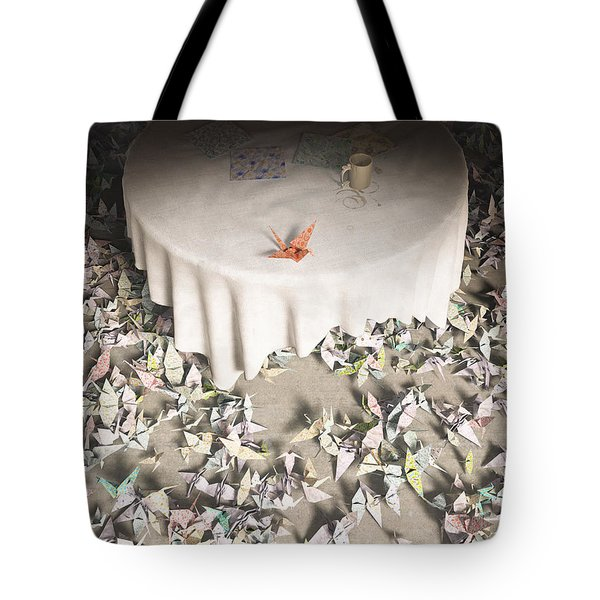 The Perfectionist Tote Bag by Cynthia Decker