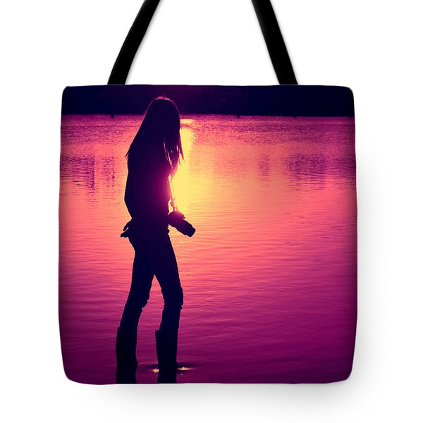 The Photographer Tote Bag by Laura  Fasulo