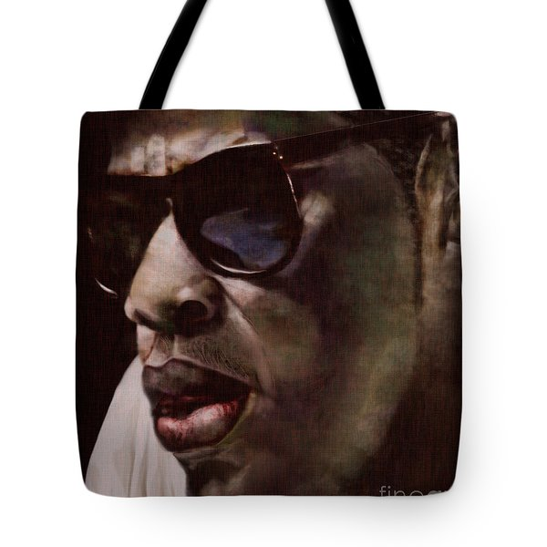The Pied Piper of Intrigue - Jay Z Tote Bag by Reggie Duffie