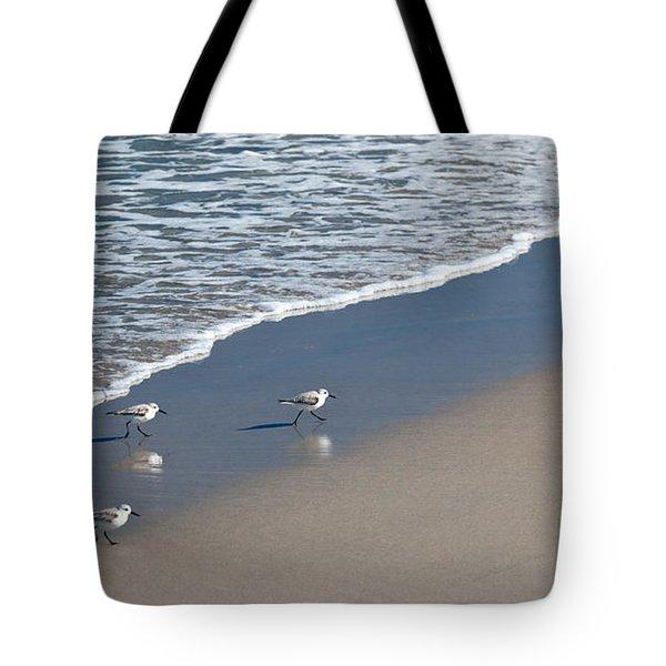 The Pied Sandpiper Tote Bag by Michelle Wiarda