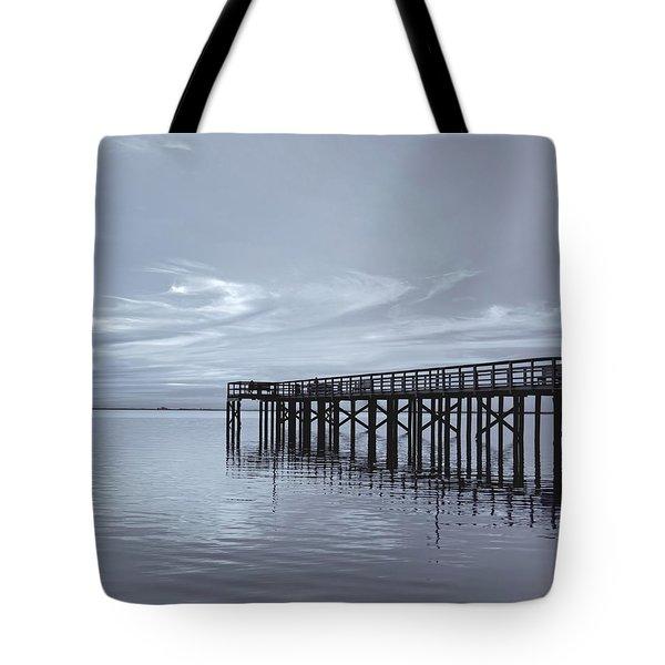 The Pier Tote Bag by Kim Hojnacki