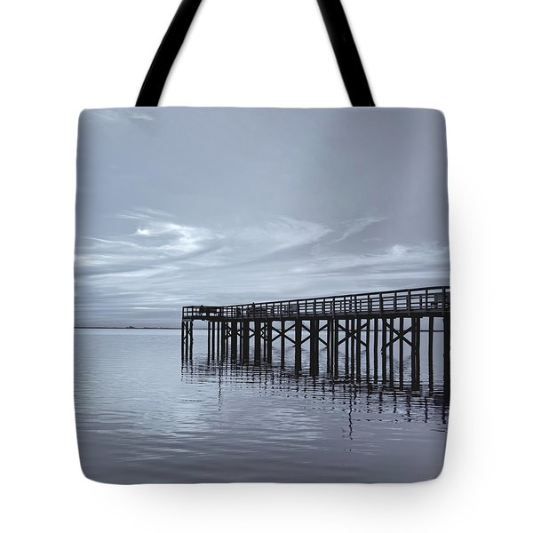 The Pier Tote Bag by Kim Hojnacki