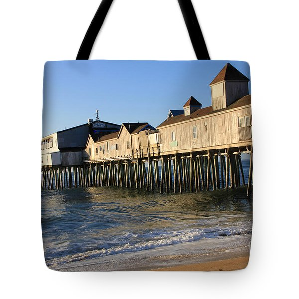The Pier Tote Bag by Michael Mooney