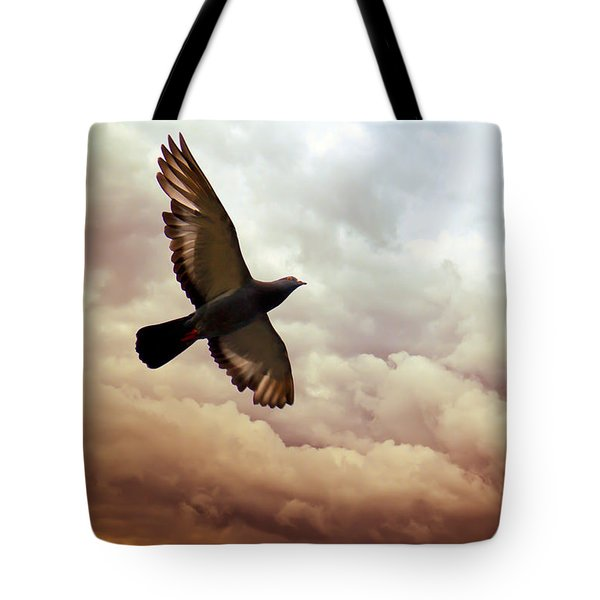 The Pigeon Tote Bag by Bob Orsillo