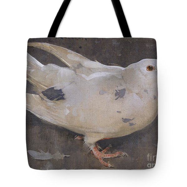 The Pigeon Tote Bag by Joseph Crawhall