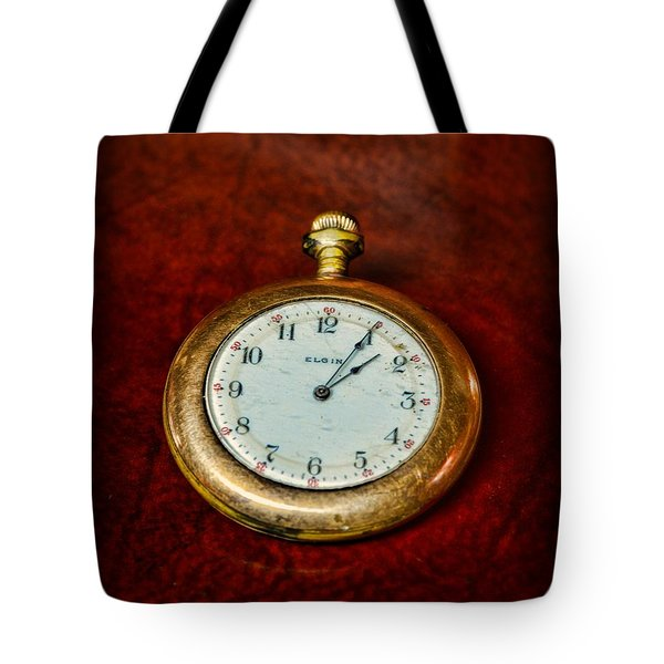 The Pocket Watch Tote Bag by Paul Ward
