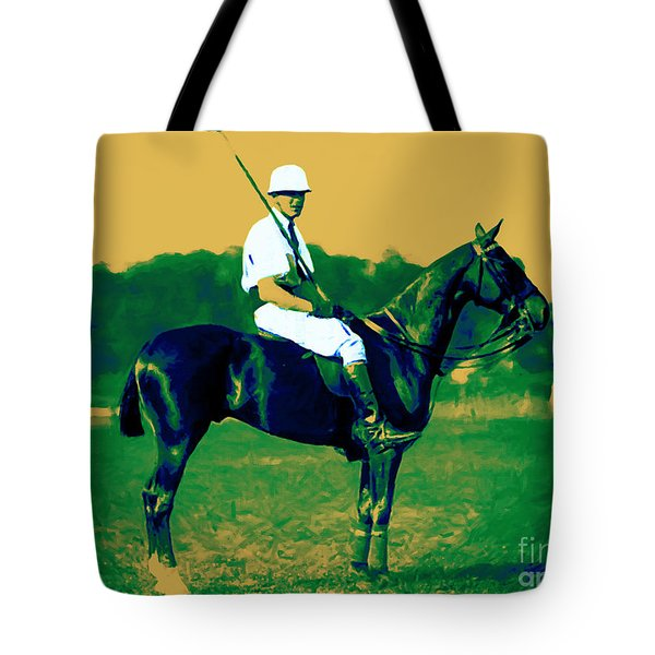 The Polo Player - 20130208 Tote Bag by Wingsdomain Art and Photography