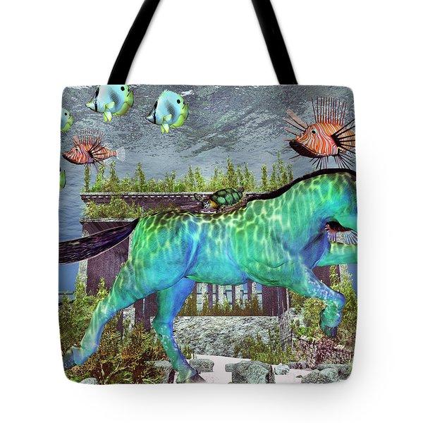 The Pony Express Tote Bag by Betsy C  Knapp