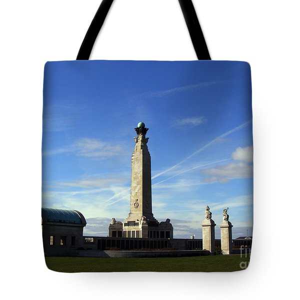 The Portsmouth Naval Memorial Southsea Tote Bag by Terri Waters