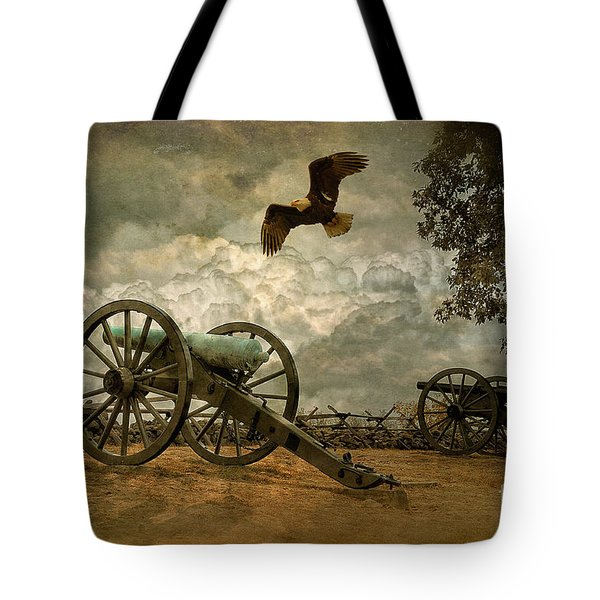 The Price Of Freedom Tote Bag by Lois Bryan