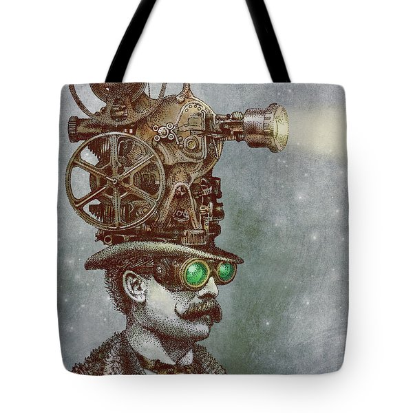The Projectionist Tote Bag by Eric Fan