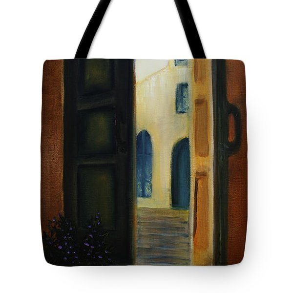 The Promise Tote Bag by David Kacey