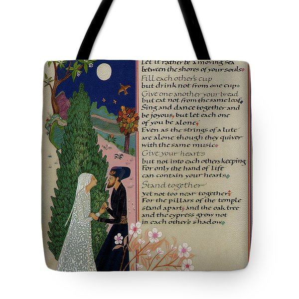 The Prophet - Kahlil Gibran  Tote Bag by Dave Wood