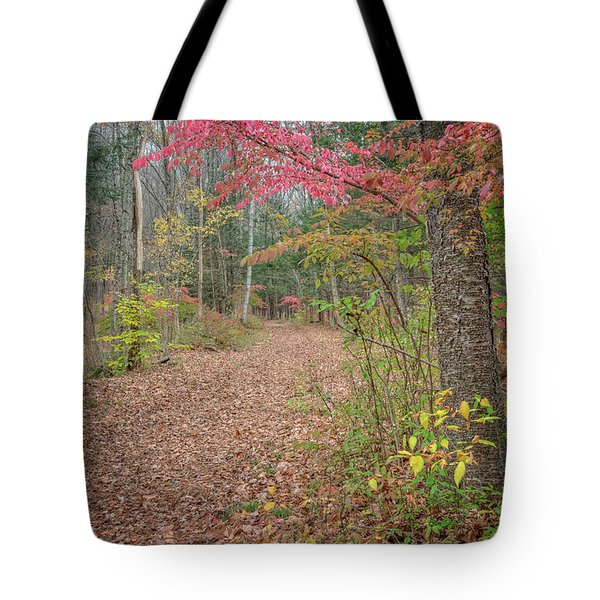The Psychedelic Forest Tote Bag by Bill  Wakeley