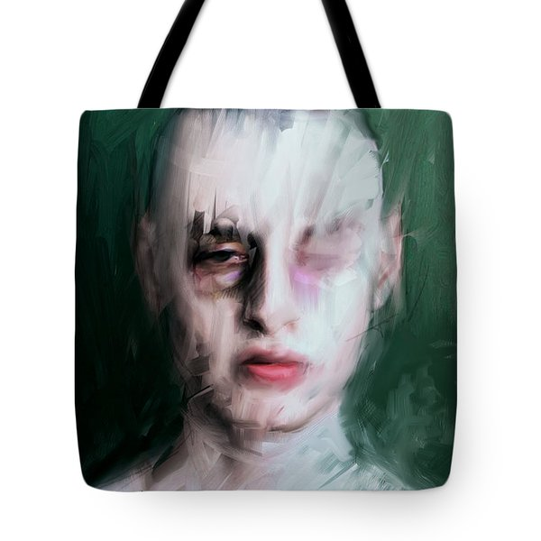The Pugilist Tote Bag by H James Hoff