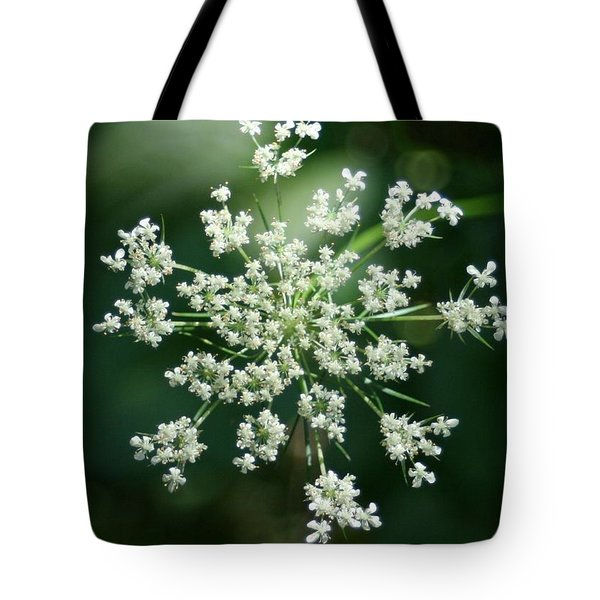 The Queen Of Lace Tote Bag by Barbara S Nickerson