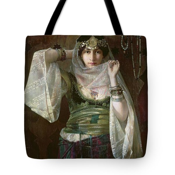 The Queen Of The Harem Tote Bag by Max Ferdinand Bredt