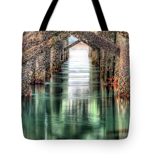 The Quiet of Green Tote Bag by JC Findley