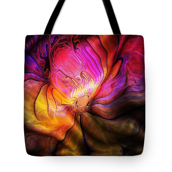 The Quilt Tote Bag by Amanda Moore
