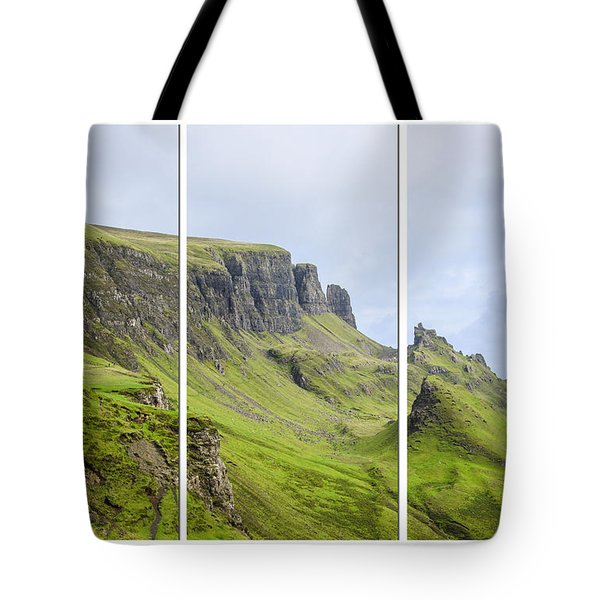The Quiraing Triptych Tote Bag by Chris Thaxter