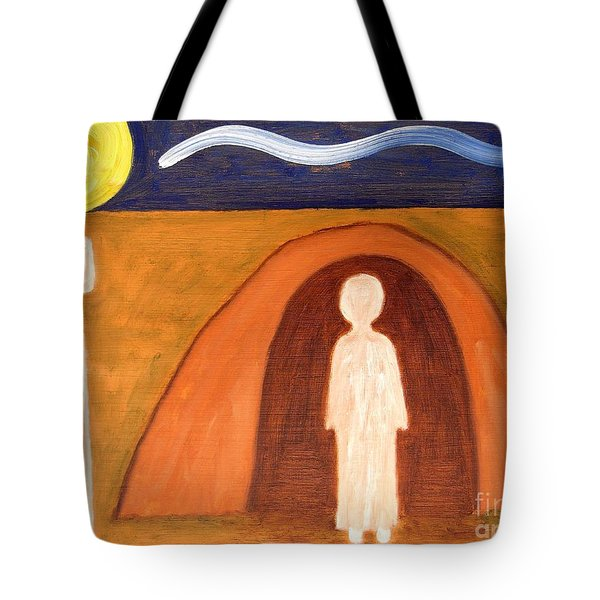 THE RAISING OF LAZARUS Tote Bag by Patrick J Murphy
