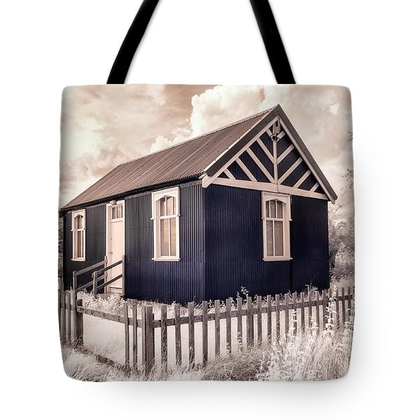 The Reading Room Appleton Le Moors Tote Bag by Janet Burdon