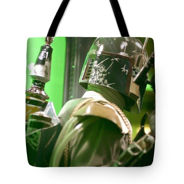 The Real Boba Fett 5 Tote Bag by Micah May