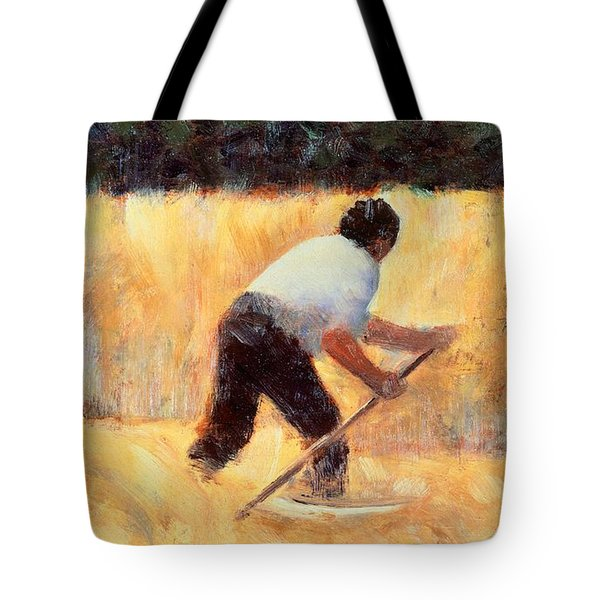 The Reaper Tote Bag by Georges Seurat
