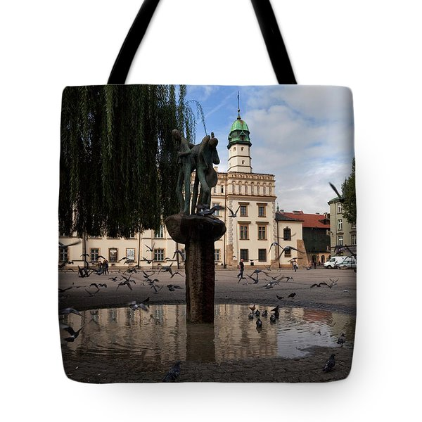The Renaissance Town Hall And Central Tote Bag by Panoramic Images