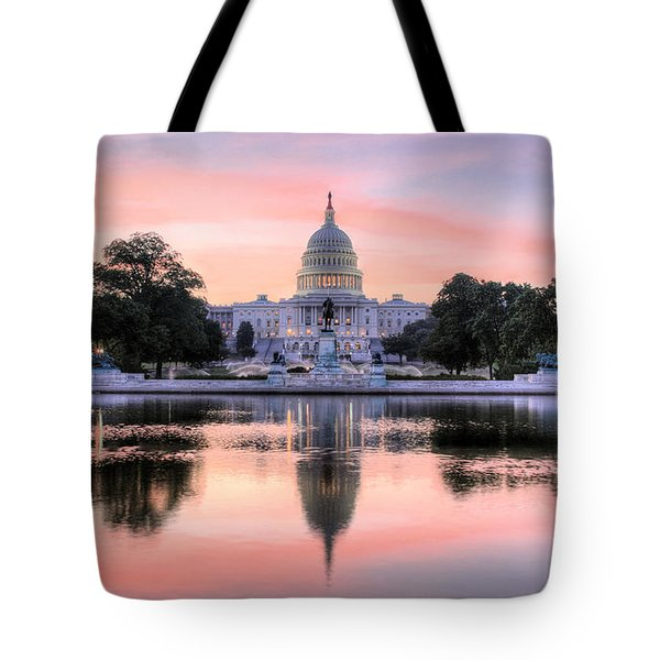 The Republic Awakens Tote Bag by JC Findley