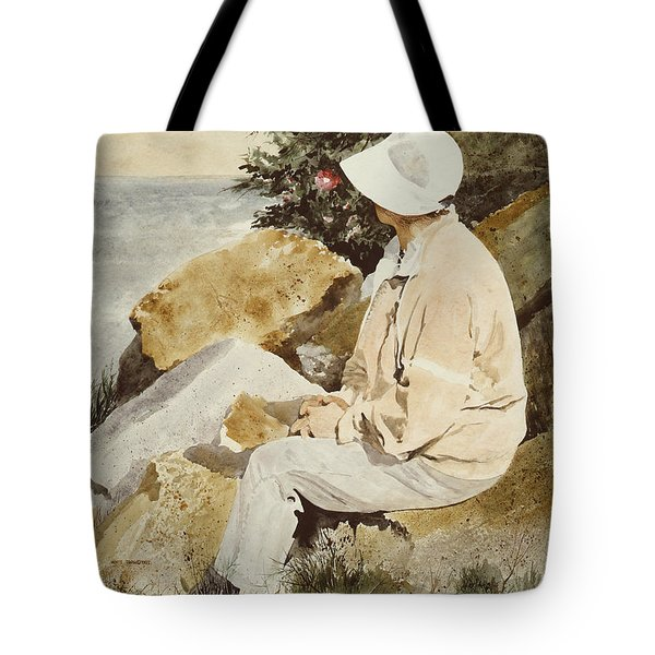 The Respite Tote Bag by Monte Toon
