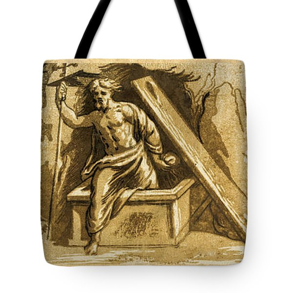 The Resurrection Tote Bag by Aged Pixel