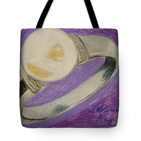 The Ring Tote Bag by Fladelita Messerli-