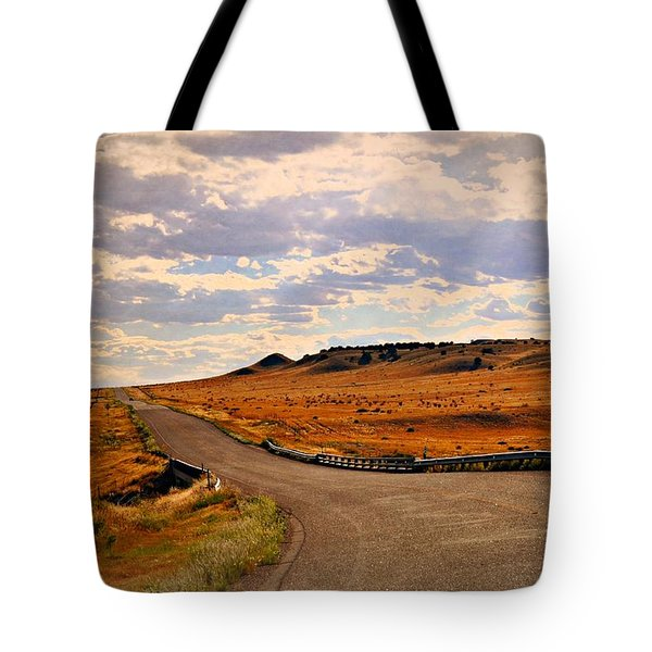 The Road Less Traveled Tote Bag by Marty Koch