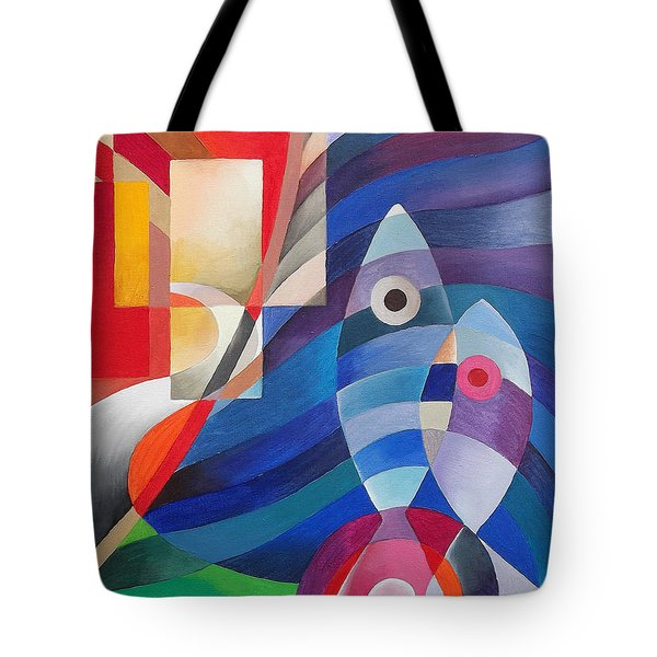The Road Less Travelled Tote Bag by Maria Rova