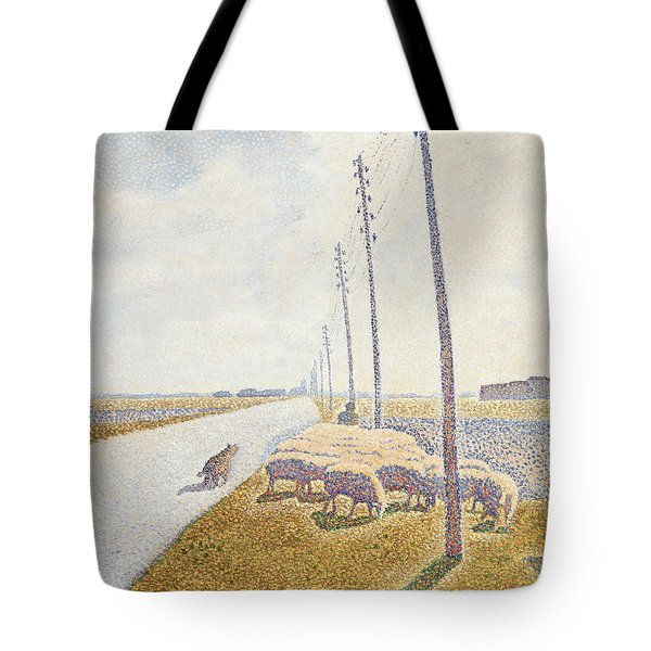 The Road To Nieuport Tote Bag by Willy Finch
