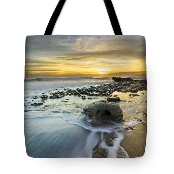 The Rock Tote Bag by Debra and Dave Vanderlaan